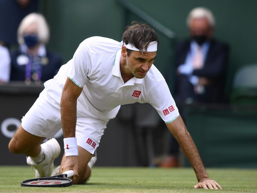 Tay vợt Federer có thể nghỉ thi đấu dài hạn do chấn thương đầu gối