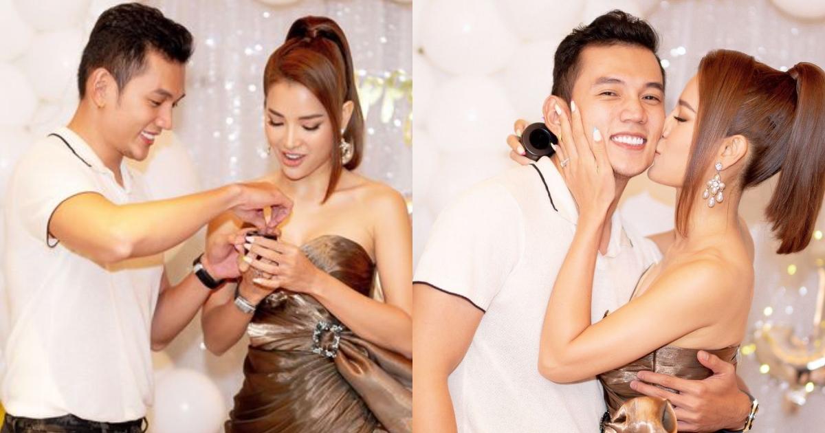 Diễn Viên Lý Bình và Phương Trinh Jolie đính hôn