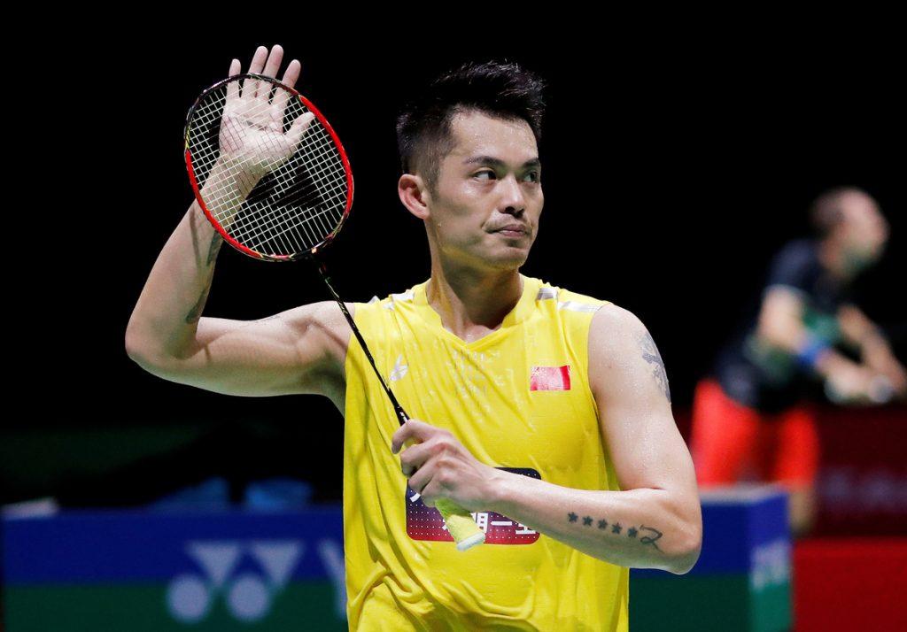 Tay vợt Lin Dan người Trung Quốc