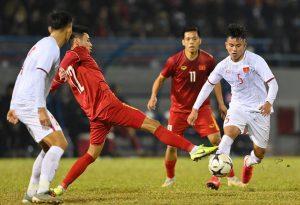 Tuyển Việt Nam chiến thắng trong 2 trận đấu tập với U22