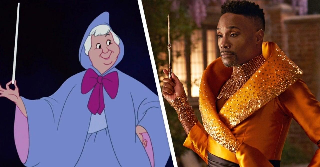 Nhân vật Fab G xuất hiện với chiếc đầm mạ vàng bằng sequin