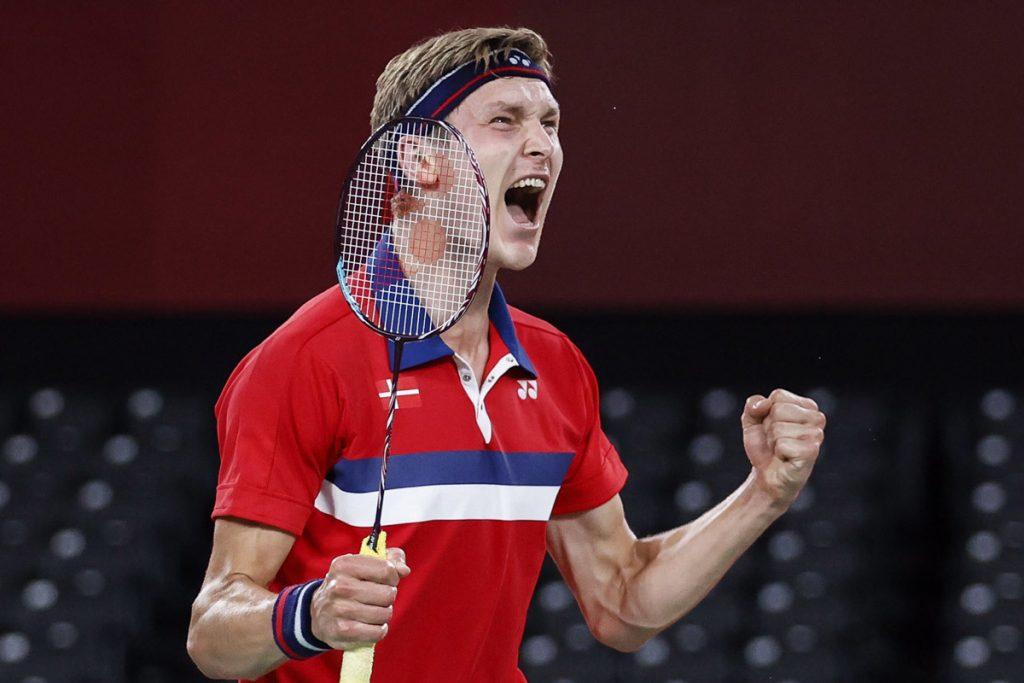 Tài năng của tay vợt Viktor Axelsen